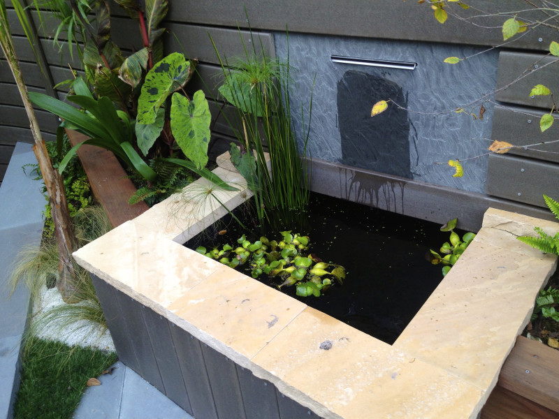 weir style water feature