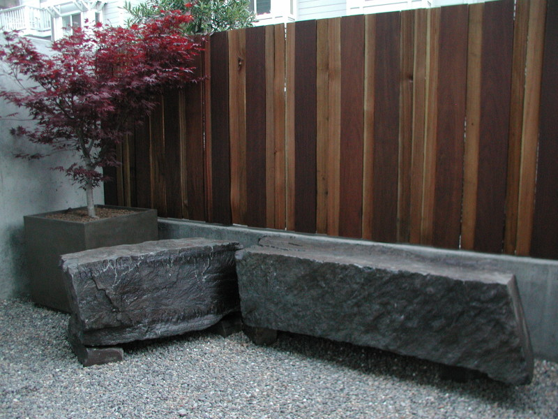slab benches