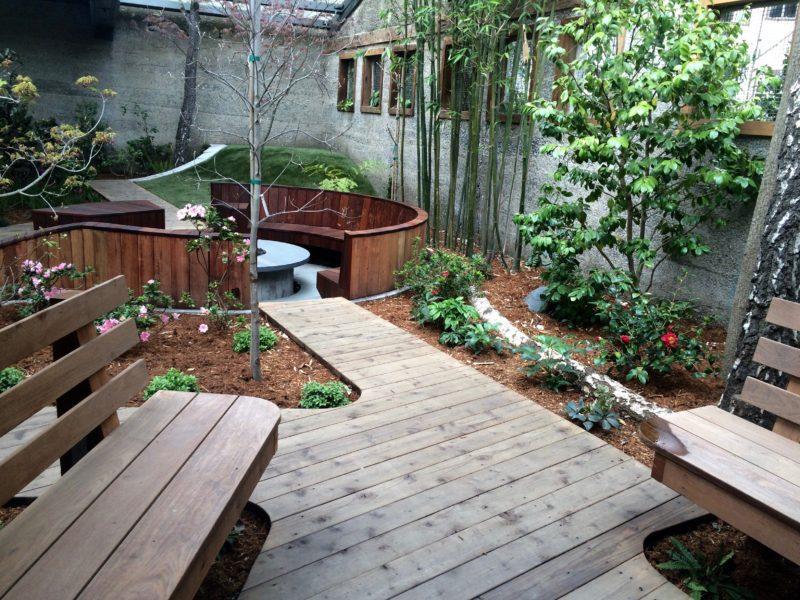 decks and plants